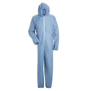 Chemical Splash Disposable Flame-Resistant Coverall-Bulwark�
