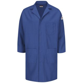 Concealed Snap Front Lab Coat - Nomex IIIA - 6 oz.-