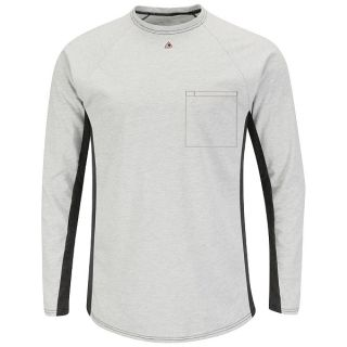 Long Sleeve FR Two-Tone Base Layer with Concealed Chest Pocket - EXCEL FR-