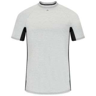 Bulwark® Industrial Shirts Short Sleeve FR Two-Tone Base Layer - EXCEL FR-Bulwark