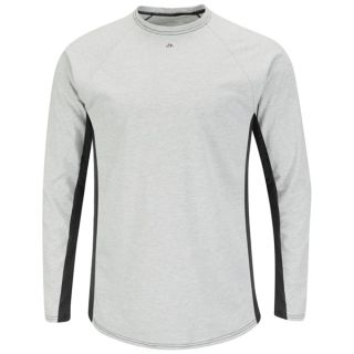 Bulwark® Industrial Shirts Long Sleeve FR Two-Tone Base Layer - EXCEL FR-Bulwark