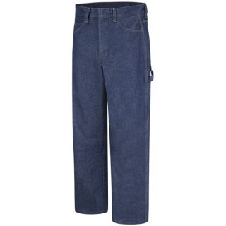 Bulwark® Industrial Pants Pre-washed Denim Dungaree - EXCEL FR - 14.75 oz.-Bulwark