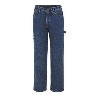Mens Pre-Washed Denim Dungaree with Insect Shield-Bulwark