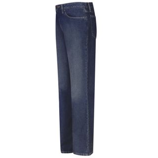 Mens Straight Fit Sanded Denim Jean - EXCEL FR - 12.5 oz.-Bulwark
