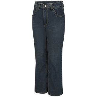 Mens Relaxed Fit Bootcut Jean with Stretch-Bulwark®