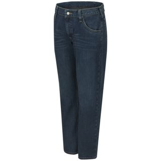 Bulwark Industrial Pants Unisex Straight Fit Jean with Stretch-Bulwark