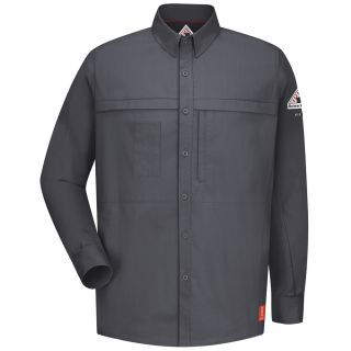 IQ Series Comfort Woven Concealed Pocket Shirt-Bulwark®