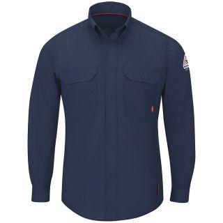 IQ Series Mens Midweight Comfort Woven Shirt-Bulwark®