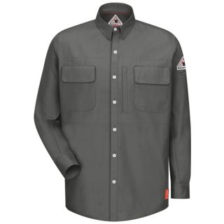 IQ Long Sleeve Patch Pocketed Shirt