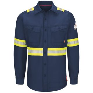 IQ Series Endurance Work Shirt - Enhanced Vis-