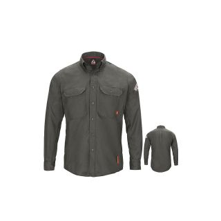 IQ SERIES Long Sleeve Comfort Woven Lightweight Shirt-Bulwark®