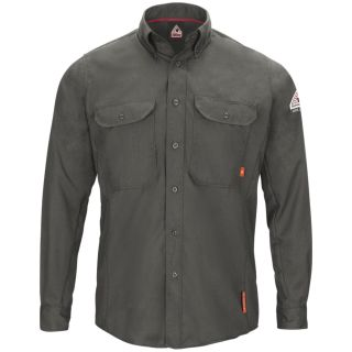 IQ Series Mens Lightweight Comfort Woven Shirt with Insect Shield-