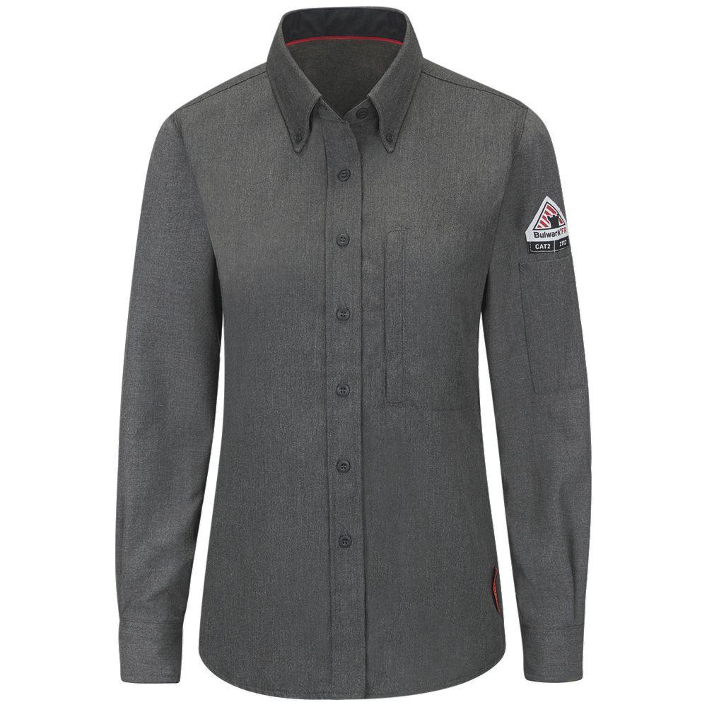 Shirt-LS Banded Collar