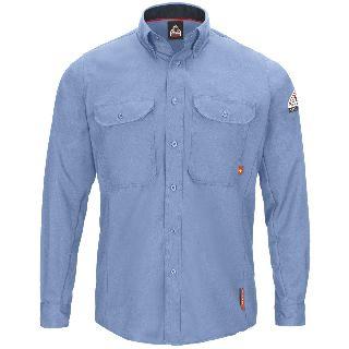 IQ Series Comfort Woven Mens Lightweight Shirt-Bulwark®