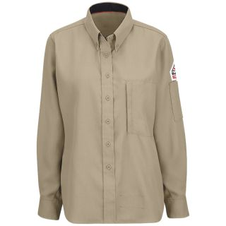 IQ Series Womens Lightweight Comfort Woven Shirt with Insect Shield-Bulwark®