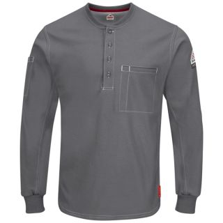 IQ Series Plus Long Sleeve Henley-Bulwark®