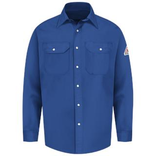 Snap-Front Uniform Shirt - EXCEL FR - 7 oz.-