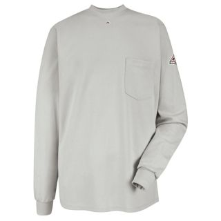 Long Sleeve Tagless T-Shirt - EXCEL FR-Bulwark®