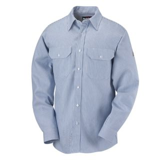 Striped Uniform Shirt - EXCEL FR - 7 oz.-