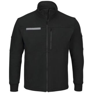 Male Zip Front Fleece Jacket-Bulwark