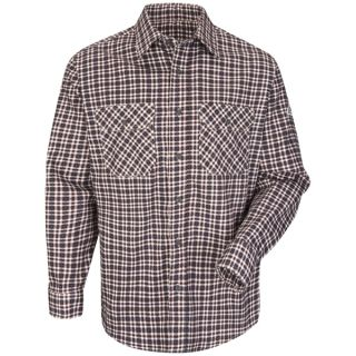 Plaid Uniform Shirt - EXCEL FR ComforTouch - 6.5 oz.