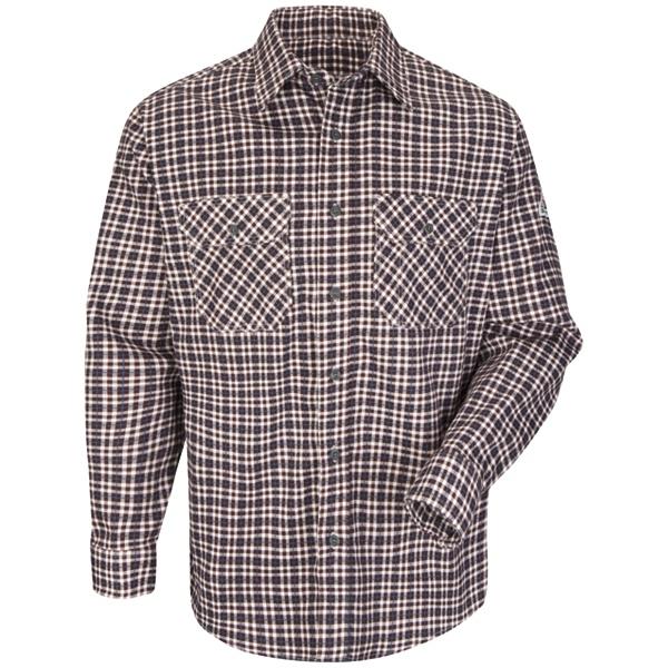 ce9c1cf766ce Buy Plaid Uniform Shirt - EXCEL FR ComforTouch - 6.5 oz. - Bulwark ...