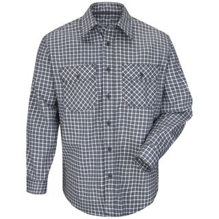 Plaid Uniform Shirt - EXCEL FR ComforTouch - 6.5 oz.-