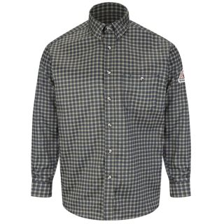 Plaid Dress Shirt - EXCEL FR ComforTouch - 6.5 oz.