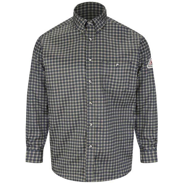 ae3f06acee17 Buy Plaid Dress Shirt - EXCEL FR ComforTouch - 6.5 oz. - Bulwark ...