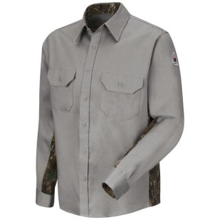 Camo Uniform Shirt - EXCEL FR ComforTouch - 6 oz.