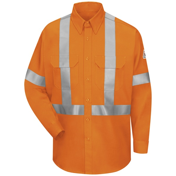 ca8f802c81f Hi-Visibility Work Shirt With CSA Compliant Reflective Trim - EXCEL FR  ComforTouch - 6