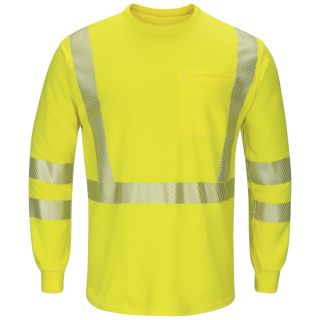 Hi-Visibility Lightweight Long Sleeve T-Shirt with Insect Shield-Bulwark®