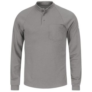 Long Sleeve Henley Shirt- CoolTouch 2-