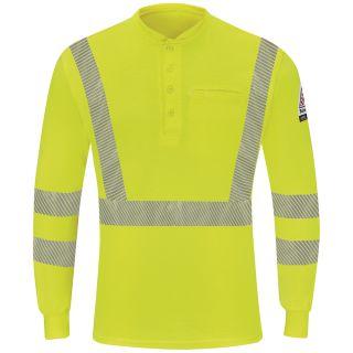 Hi-Visibility Lightweight Long Sleeve Henley-