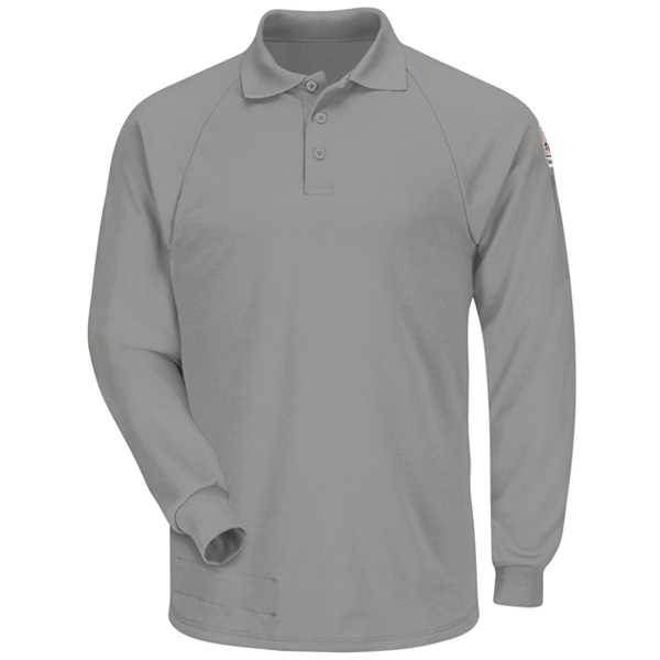 Classic Long Sleeve Polo - CoolTouch 2-Bulwark®