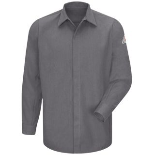 Concealed-Gripper Pocketless Shirt - CoolTouch 2 - 7 oz.-Bulwark®