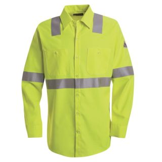 Hi-Visibility Flame-Resistant Work Shirt - CoolTouch 2 - 7 oz.-Bulwark®