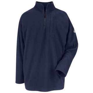 Zip-Front Fleece Sweatshirt - Modacrylic blend