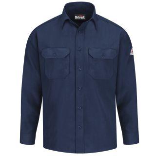 Mens Lightweight FR Uniform Shirt with Insect Shield-Bulwark®