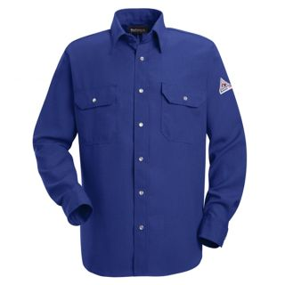 Snap-Front Uniform Shirt - Nomex IIIA - 6 oz.-