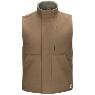Full Zip Sherpa Lined Vest-