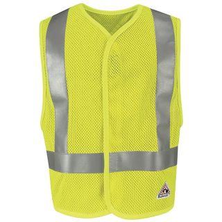 Hi-Visibility Flame-Resistant Mesh Safety Vest-Bulwark®