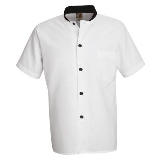 Black Trim Cook Shirt-Chef Designs