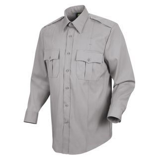 HS1113 New Dimension Stretch Poplin Long Sleeve Shirt-Horace Small�