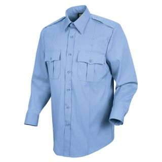 HS1114 New Dimension Stretch Poplin Long Sleeve Shirt-Horace Small®