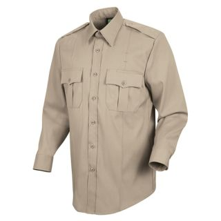 HS1115 New Dimension Stretch Poplin Long Sleeve Shirt-Horace Small�
