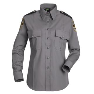 HS1166 New Dimension Stretch Poplin Long Sleeve Shirt-Horace Small®
