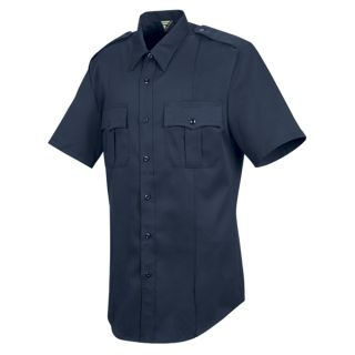 New Dimension Stretch Poplin Short Sleeve Shirt