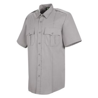 HS1209 New Dimension Stretch Poplin Short Sleeve Shirt-