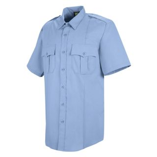 HS1210 New Dimension Stretch Poplin Short Sleeve Shirt-